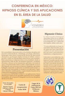 Hipnosis Clínica - Conferencia en México