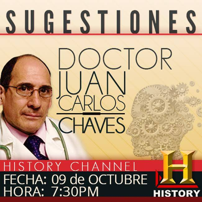 02 TABLOIDE 9 OCTUBRE 2015 SUGESTIONES HISTORY CHANEL DR JUANCARLOS CHAVES